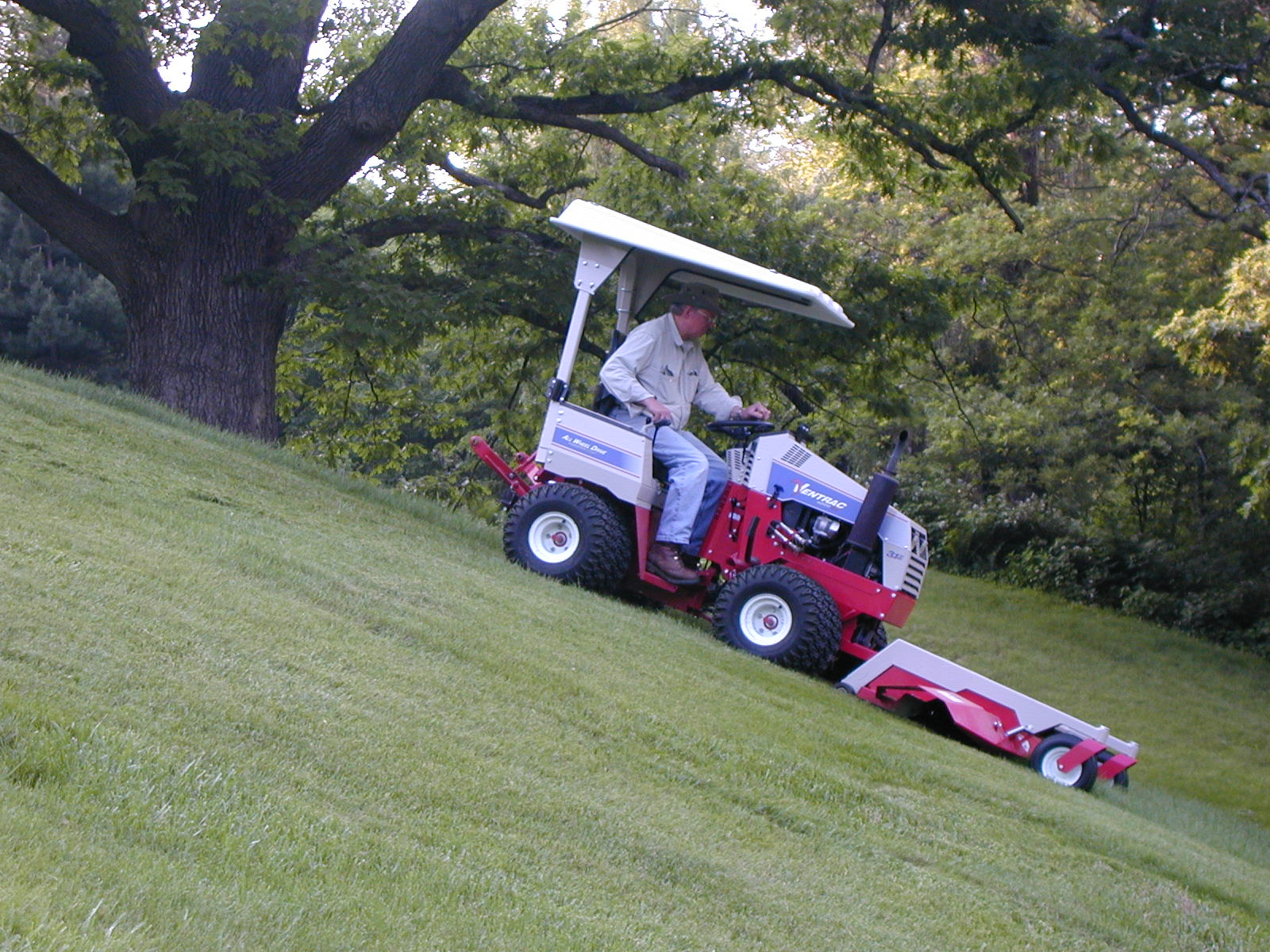 Ventrac slope mowing slope mower