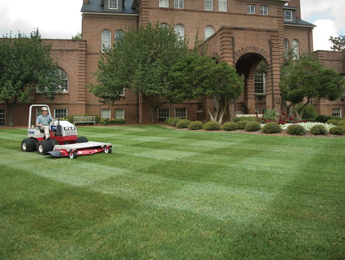 Mower Striping Pattern