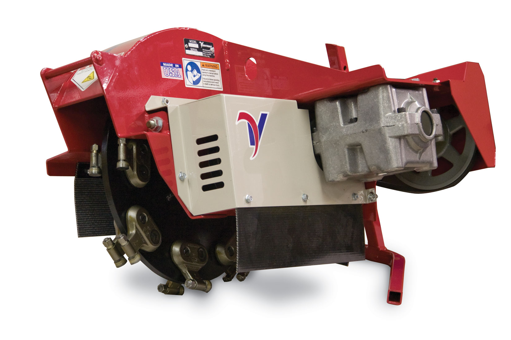 Ventrac Stump Grinder Enhancements