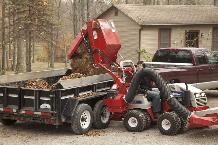 ventrac vacuum leaf collection system