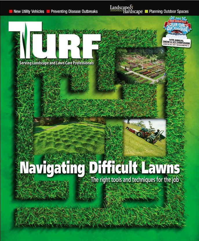 Ventrac on the Cover of Turf Magazine