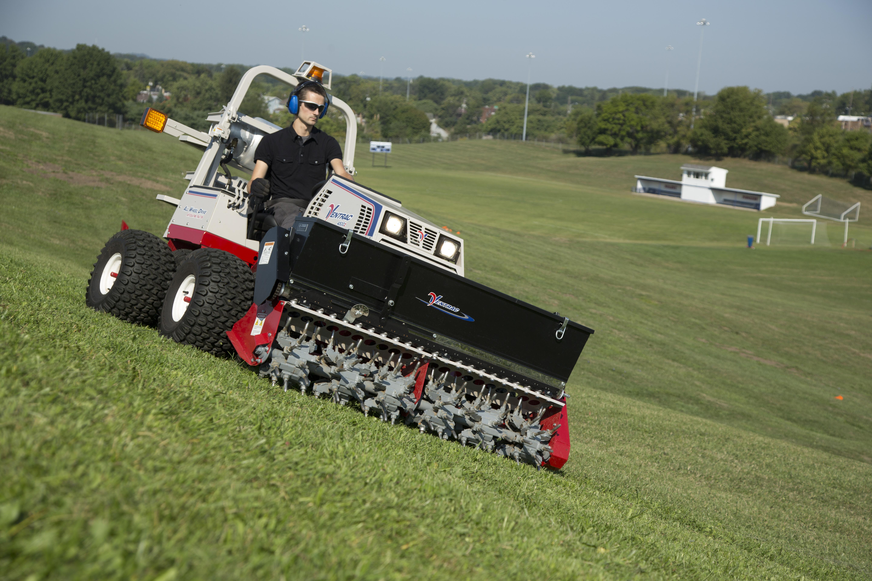 Show home build gas powered mini tractors - Ventrac 4500z Propane Compact Tractor